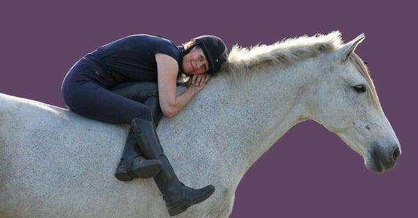Karen Rohlf Natilla cuddles