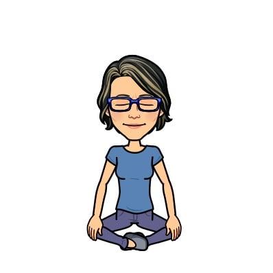 karen rohlf meditating